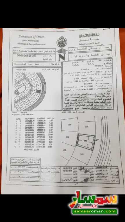 c74843776 بالصور ارضين شبك مربع 28 العوينات- ولاية صحار للبيع صحار الباطنة | سمسار  عمان